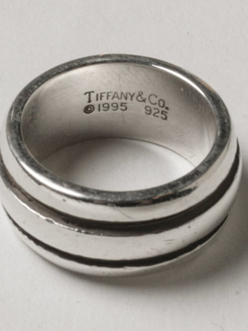 Used / Tiffany & Co. / Old Ring / Sterling Silver 925