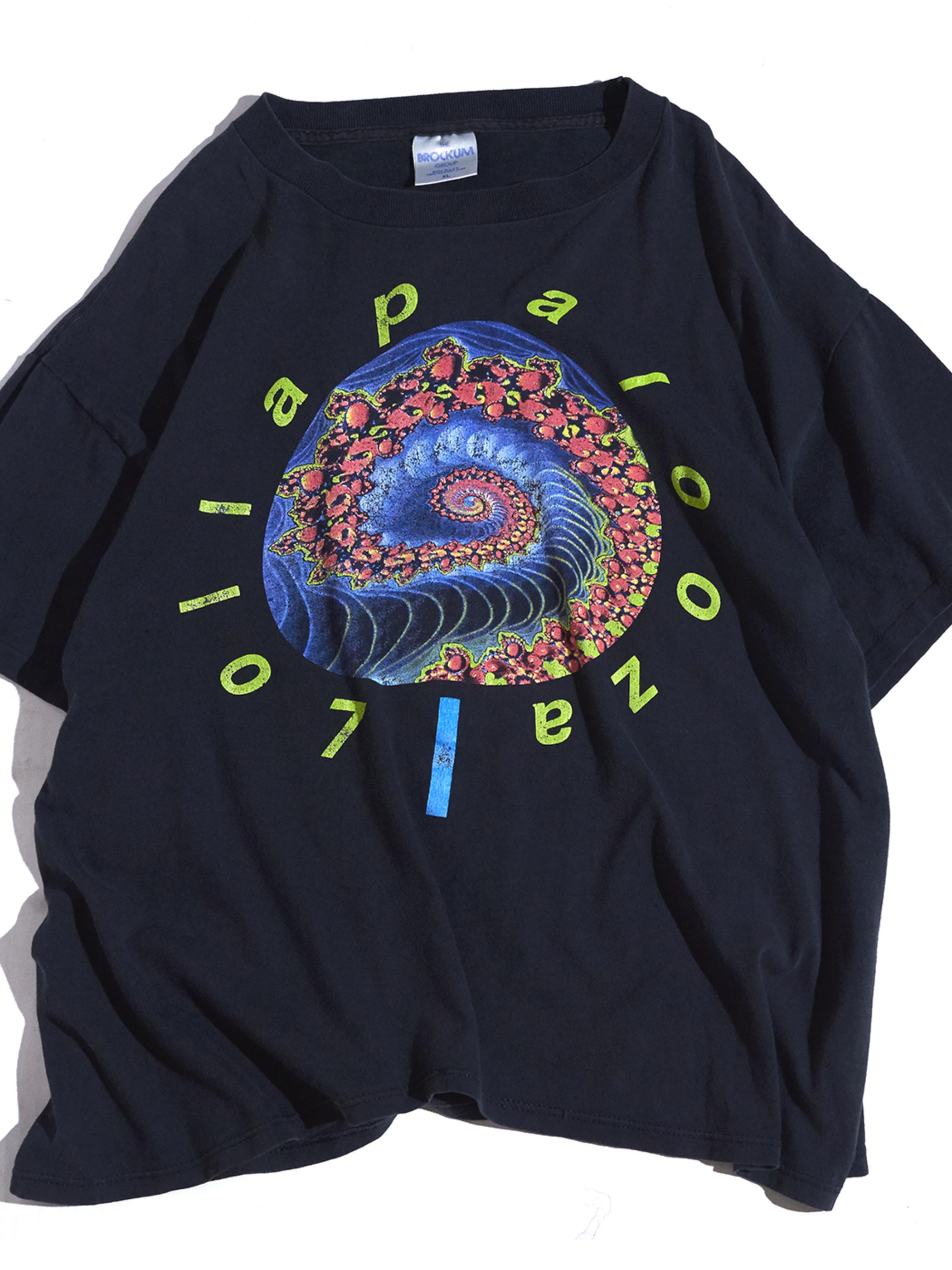 "1991y ""LOLLAPALOOZA"" print tee -BLACK-"