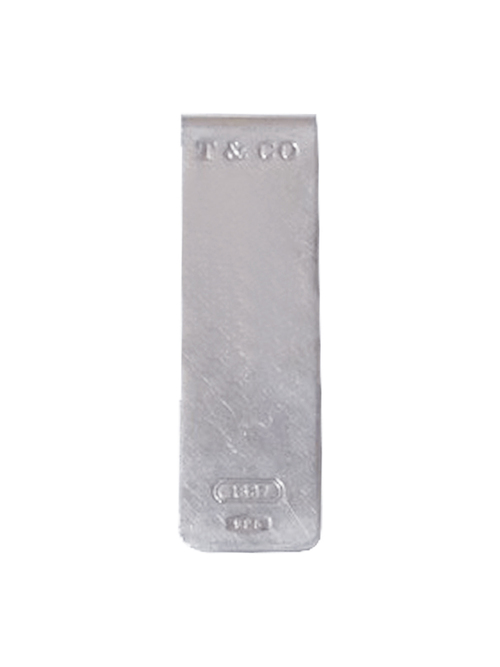 Used / Tiffany & Co. / Old Money Clip / Sterling Silver 925