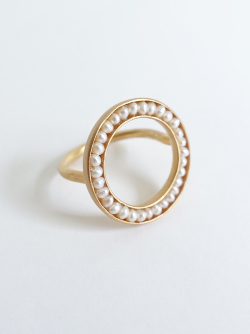 %e2%97%8fpearl ring new