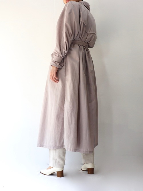 Euro Spring color long coat