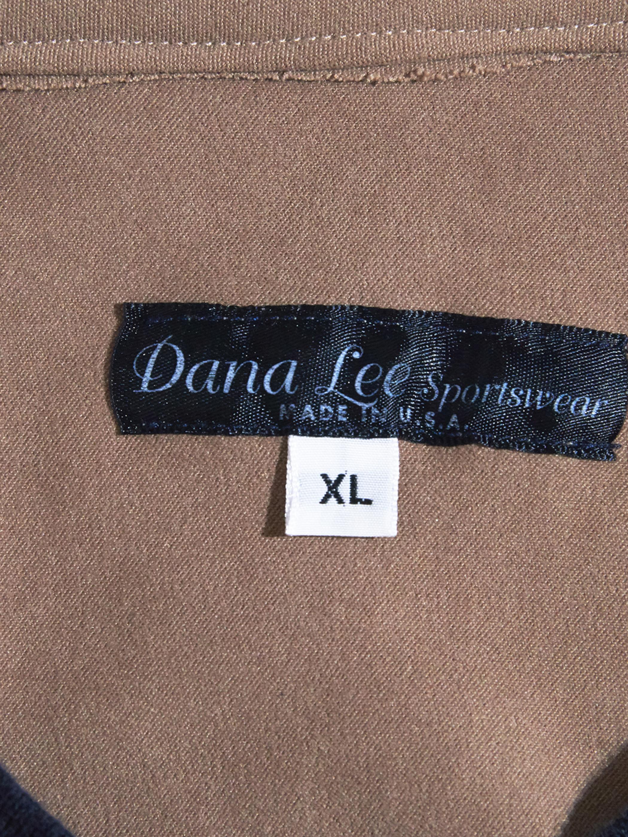 "2000s ""Dana Lee"" faux suede pullover -BEIGE-"