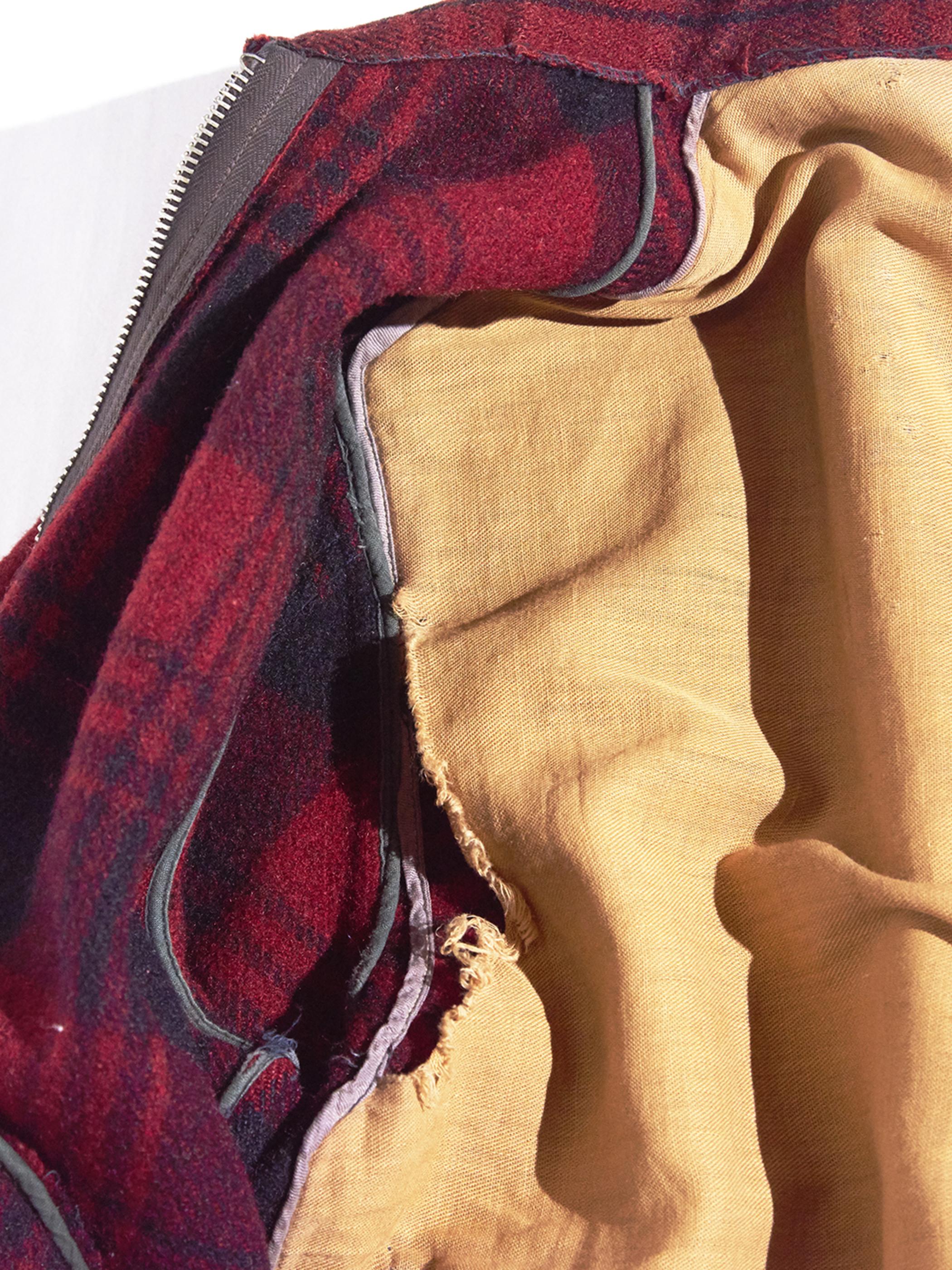 """1930s """"unknown"""" wool sport jacket -RED- <SALE¥60000→¥48000>"""