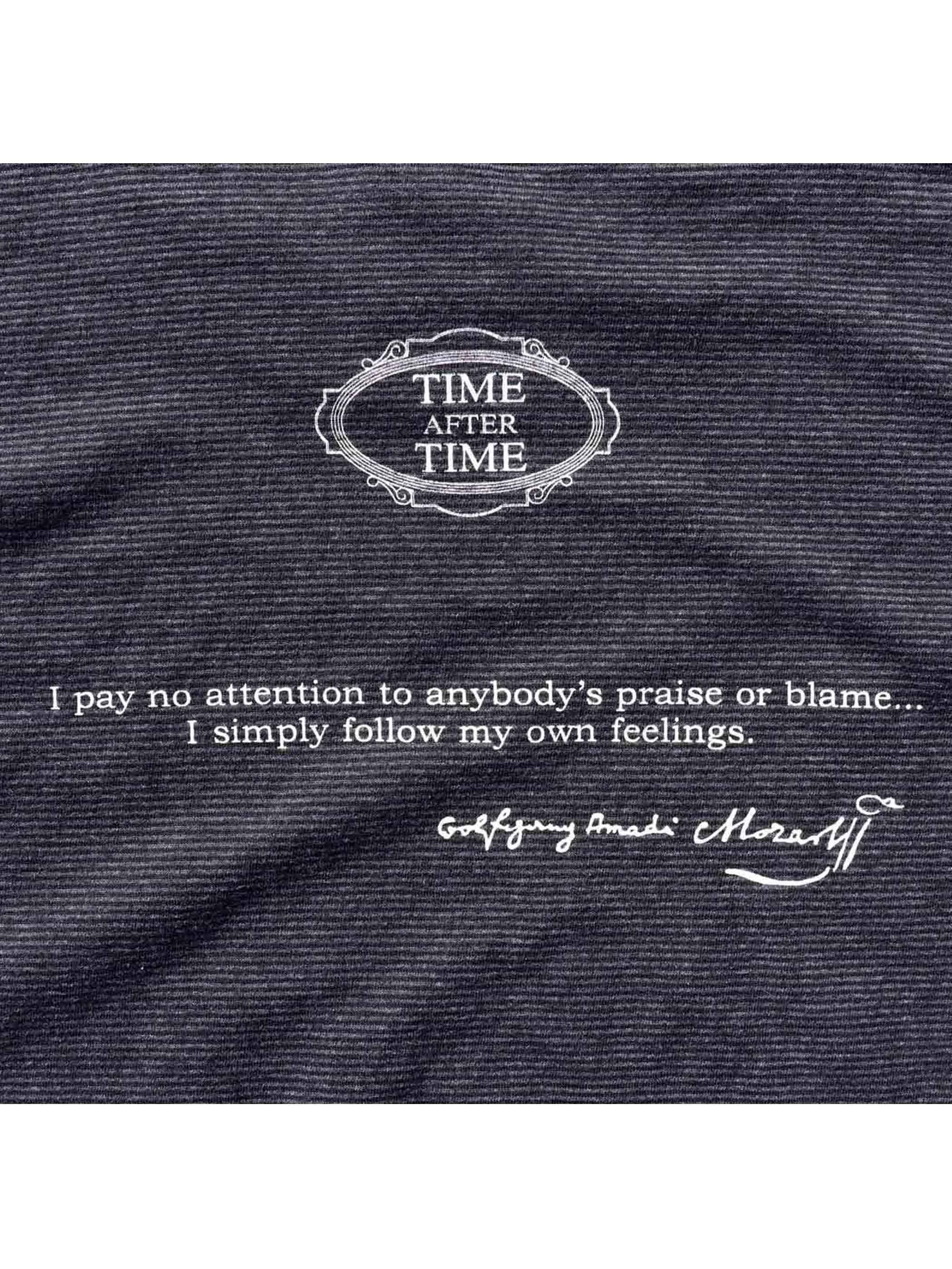 90's MOZART モーツァルト ボーダーTシャツ [L]