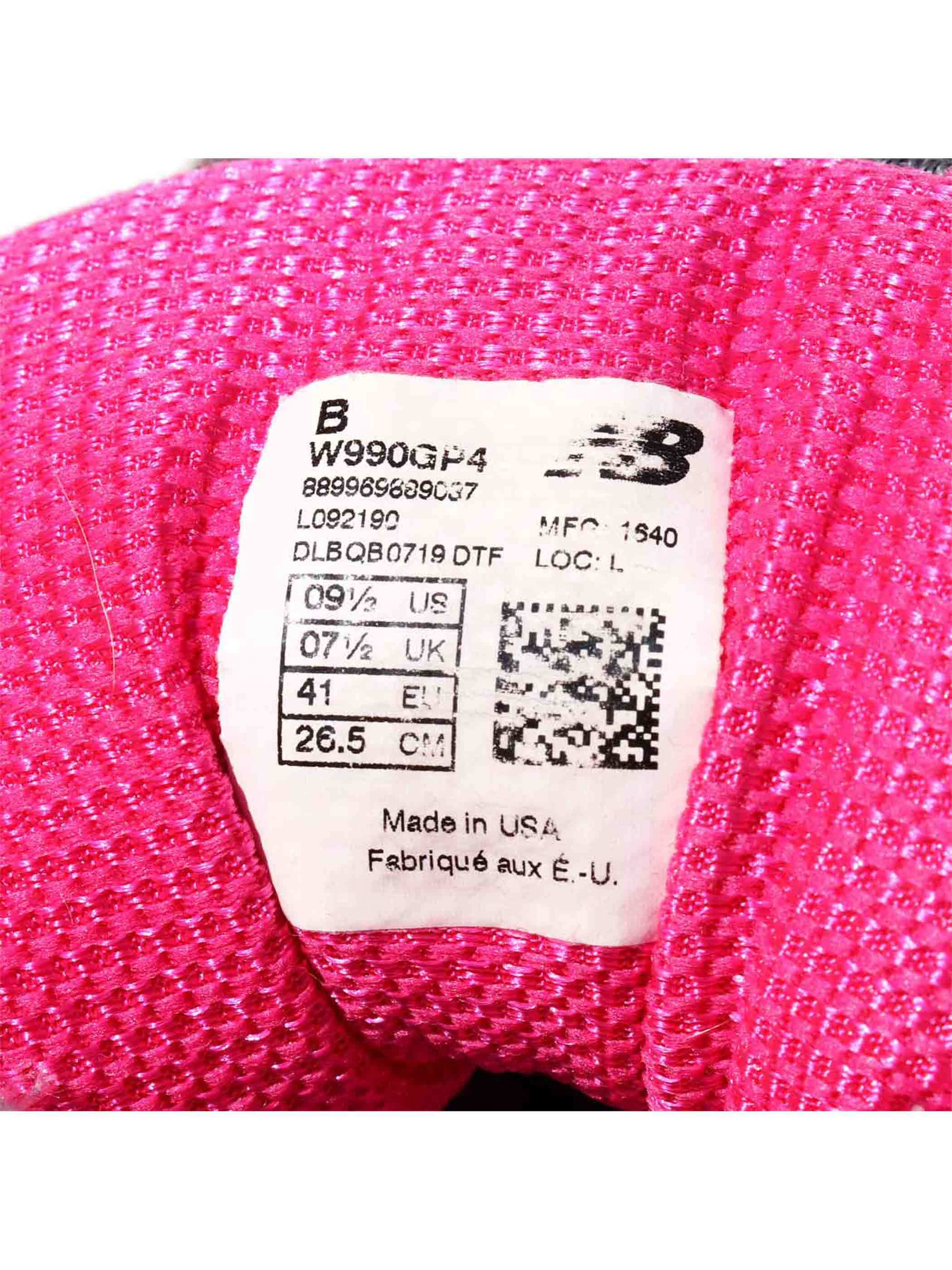 00's~ NEW BALANCE 990v4 USA製 スニーカー [Women's US9.5]