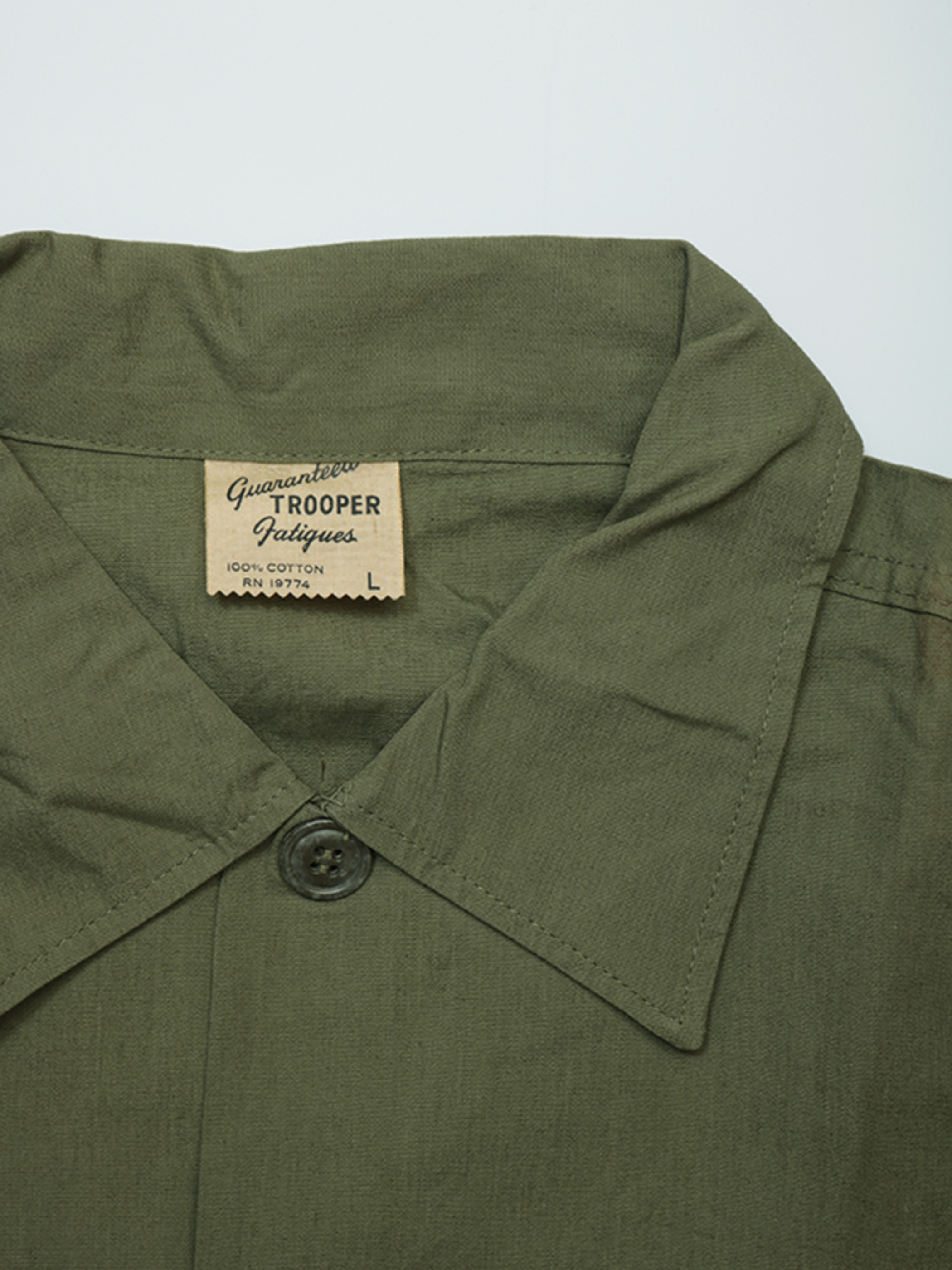Poplin Utility Shirt / Trooper