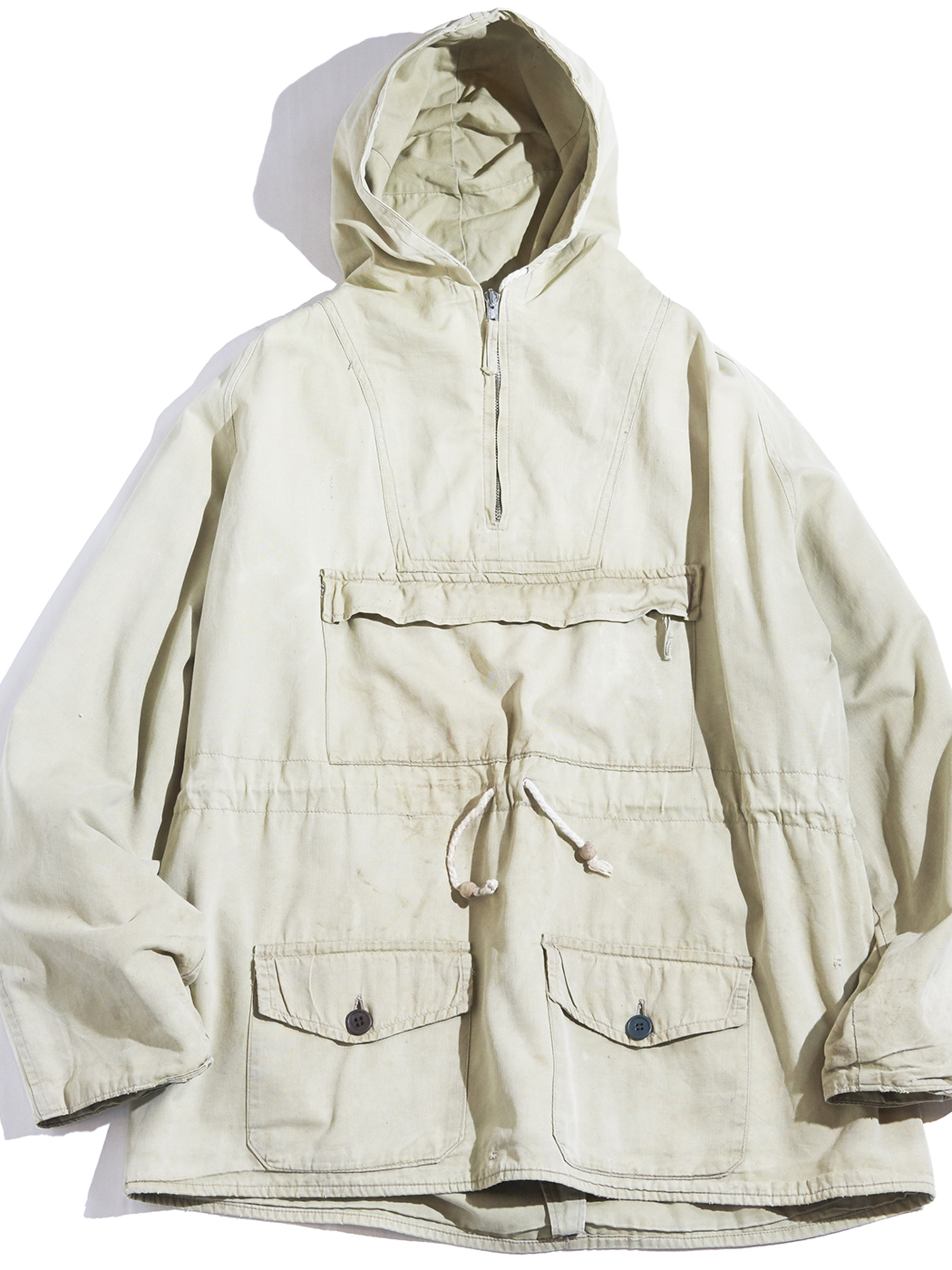 "1950s ""unknown"" anorak parka -KHAKI- <SALE¥25000→¥20000>"