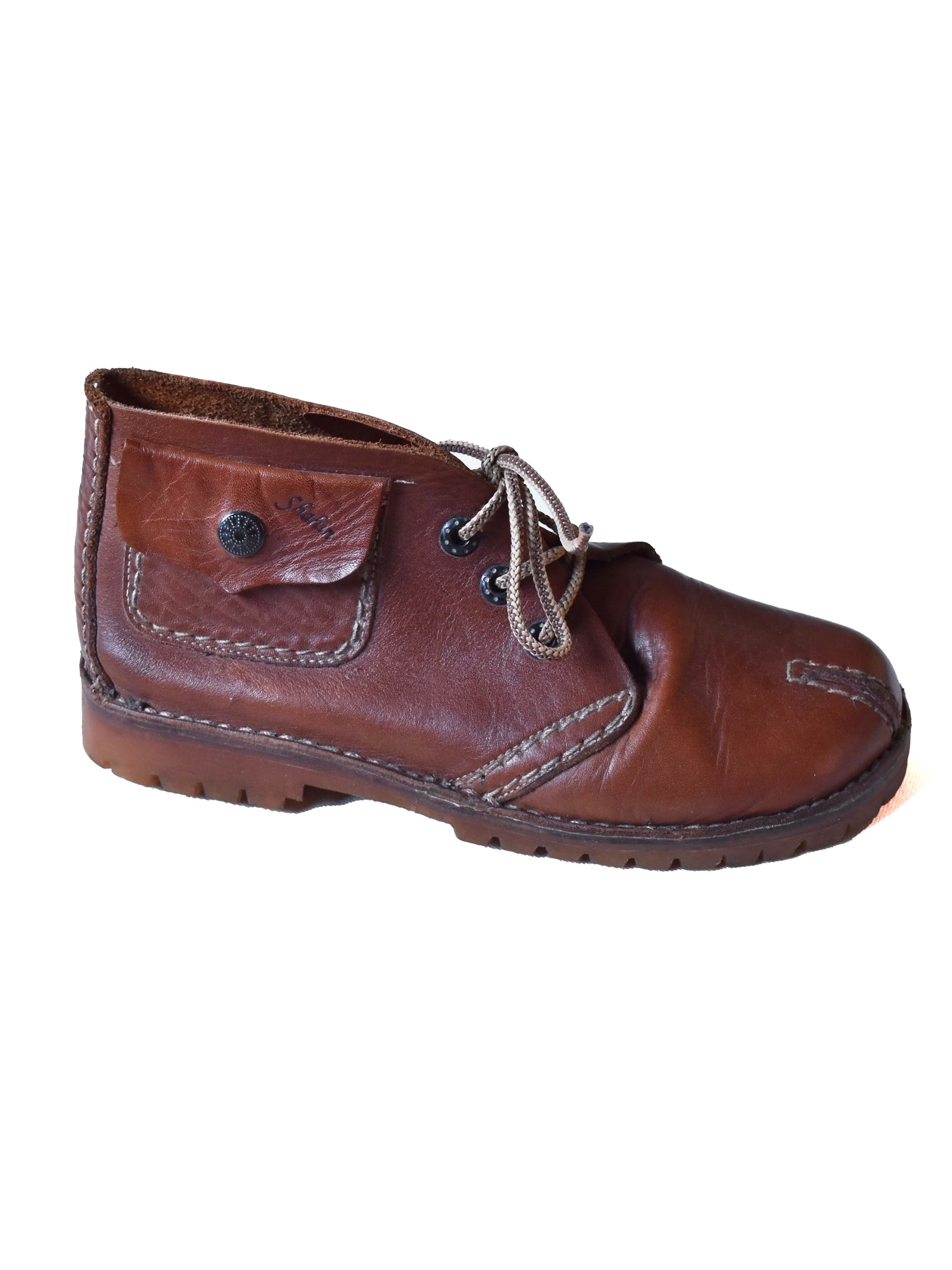"""シャーヒン レザー チャッカブーツ / """"Shahin"""" leather chukka boots"""