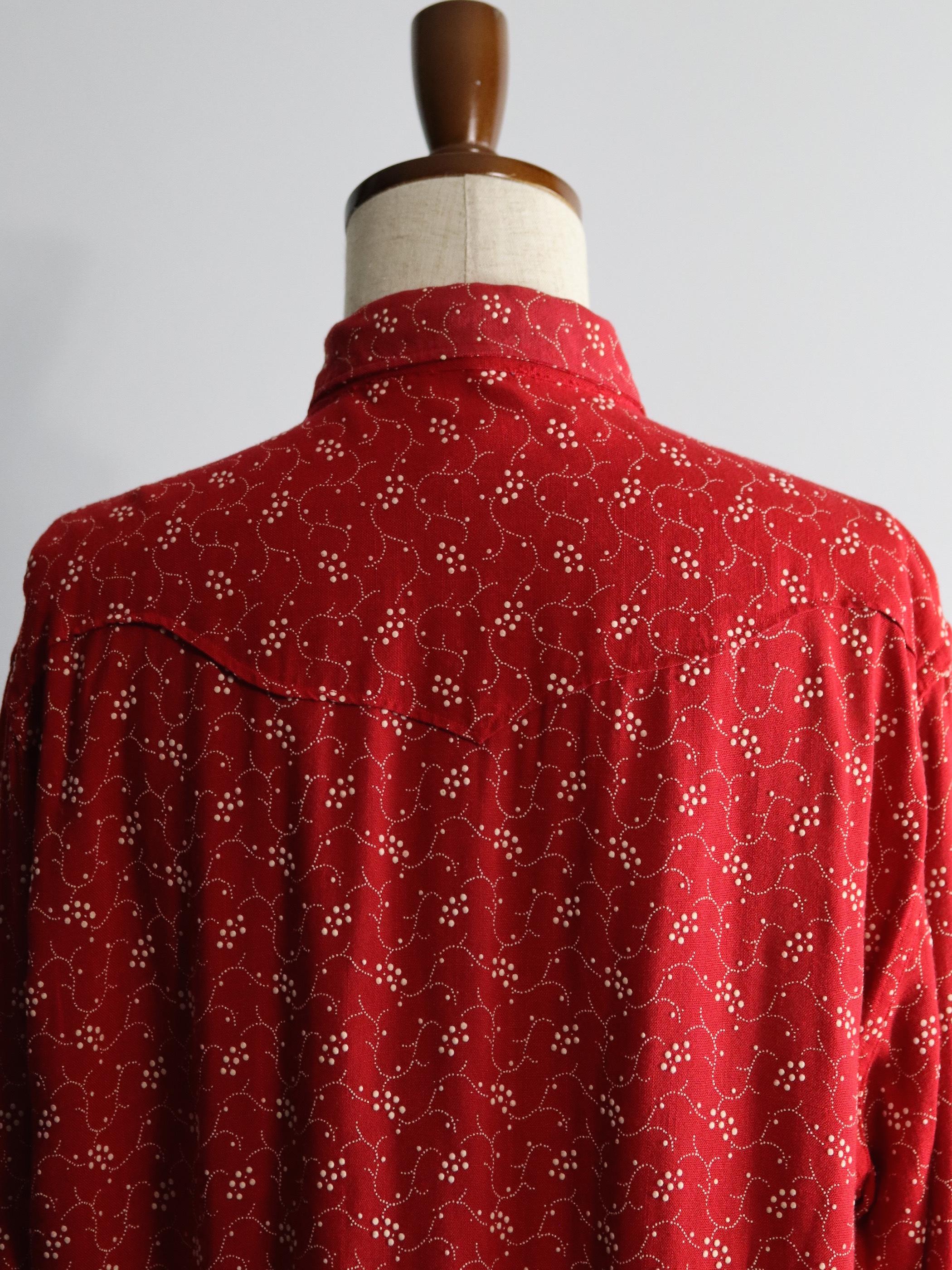 1950-60's Tem-Tex Rayon Design Western Shirts