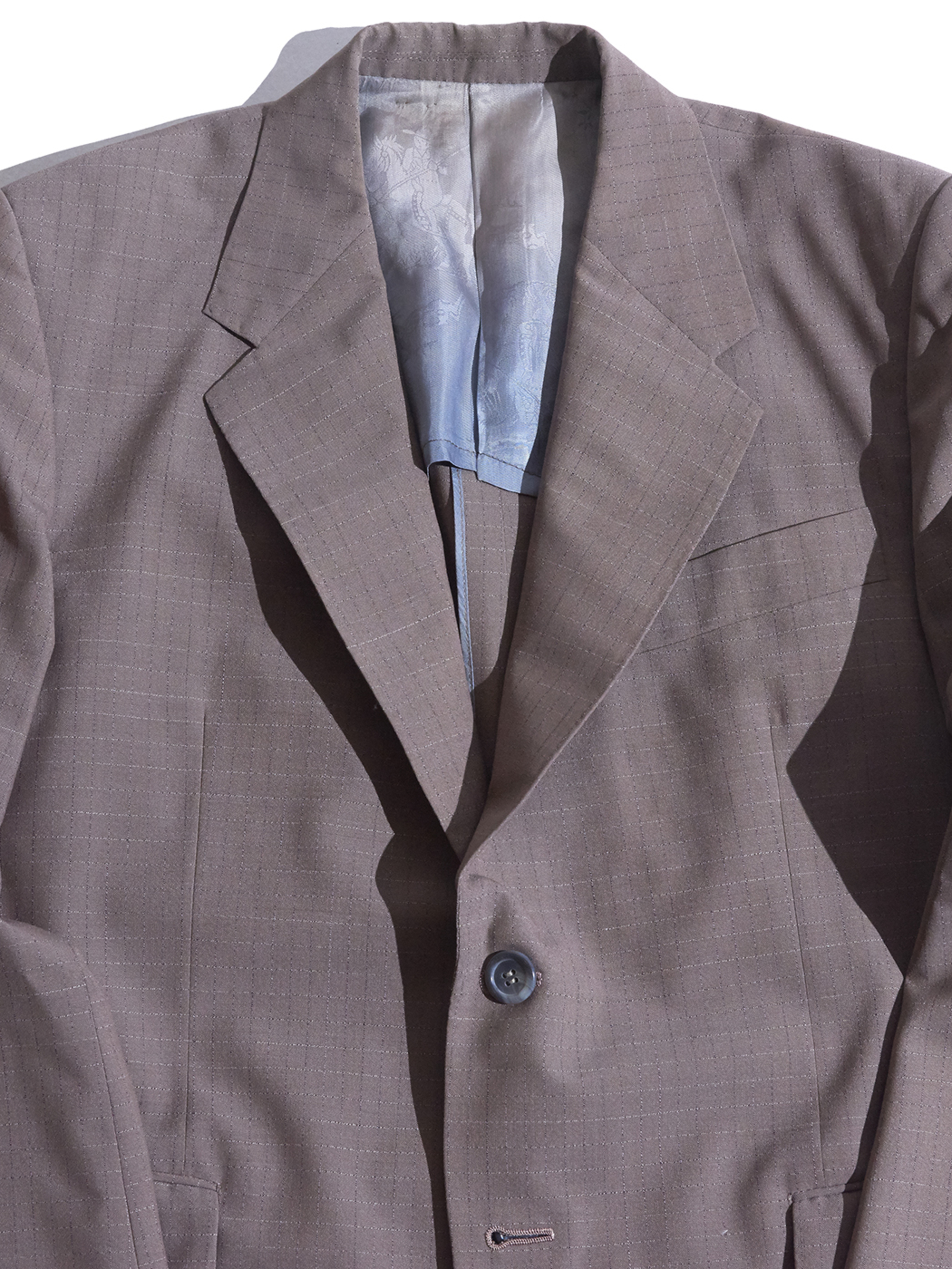 """1960s """"PLAY BOY"""" 2piece suits -BROWN-"""