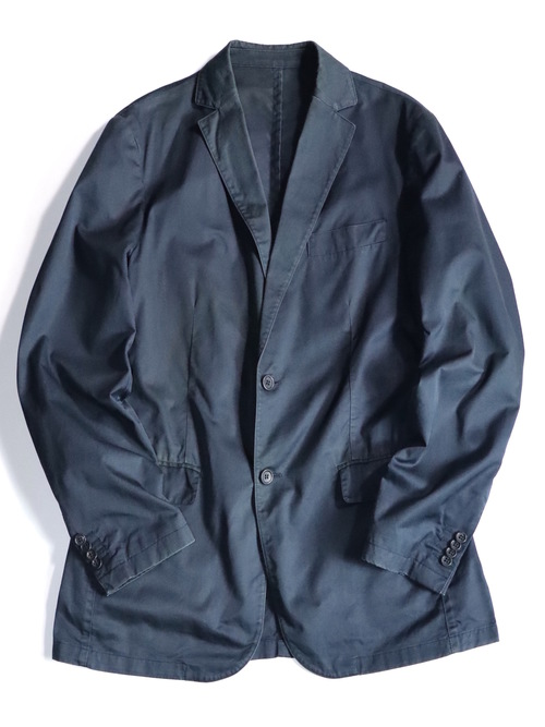 Burberry London Cotton Tailored Jacket Made in Spain
