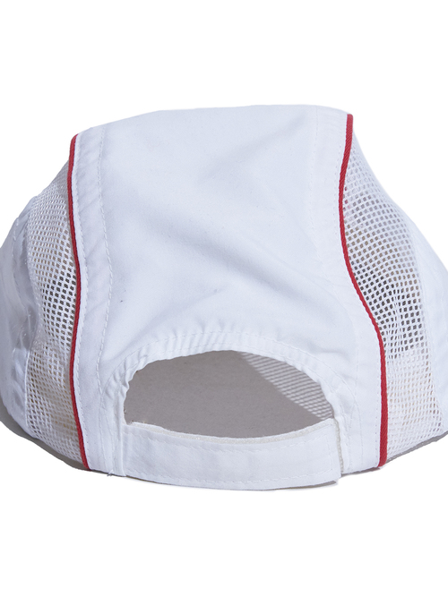 "1990s ""Fuel Belt"" mesh cap -WHITE-"