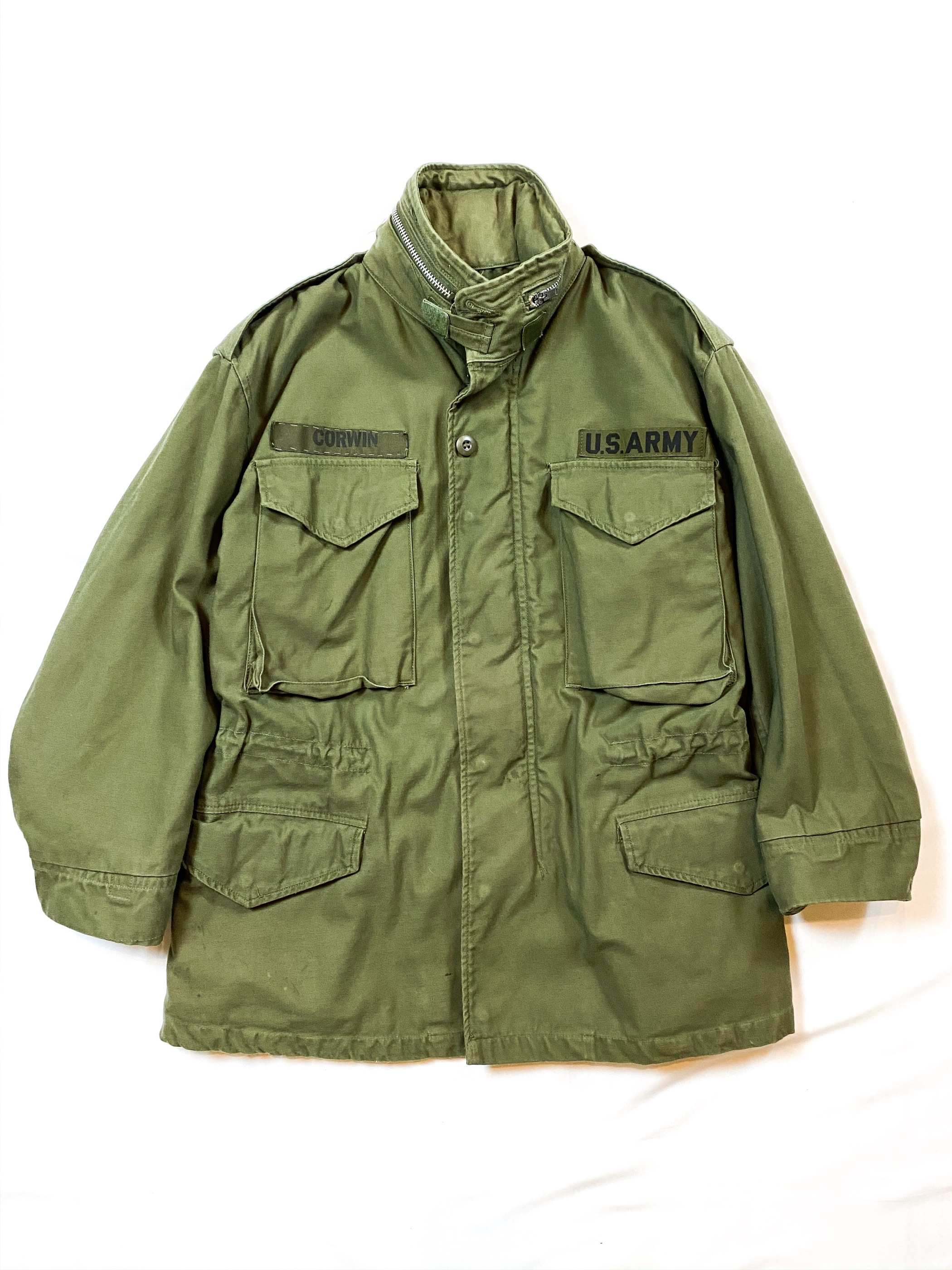 60's U.S.ARMY M-65 field jacket(2nd type)
