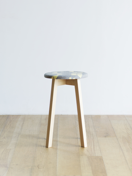 46/D. -THE GOOD OLD PRODUCTS / 〈46/D. × SUGIKOJO〉CIRCLE FABRIC STOOL