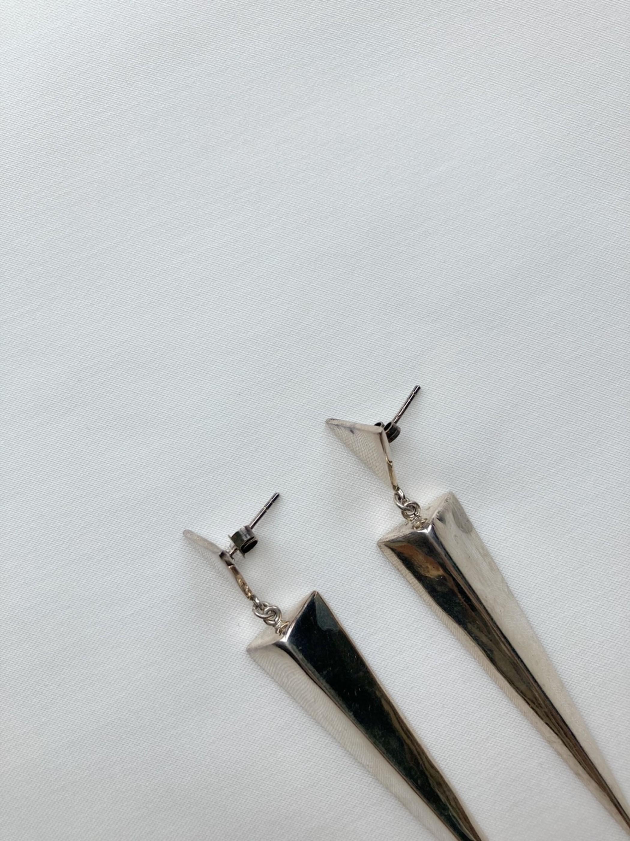 925 sterling silver pierced earrings