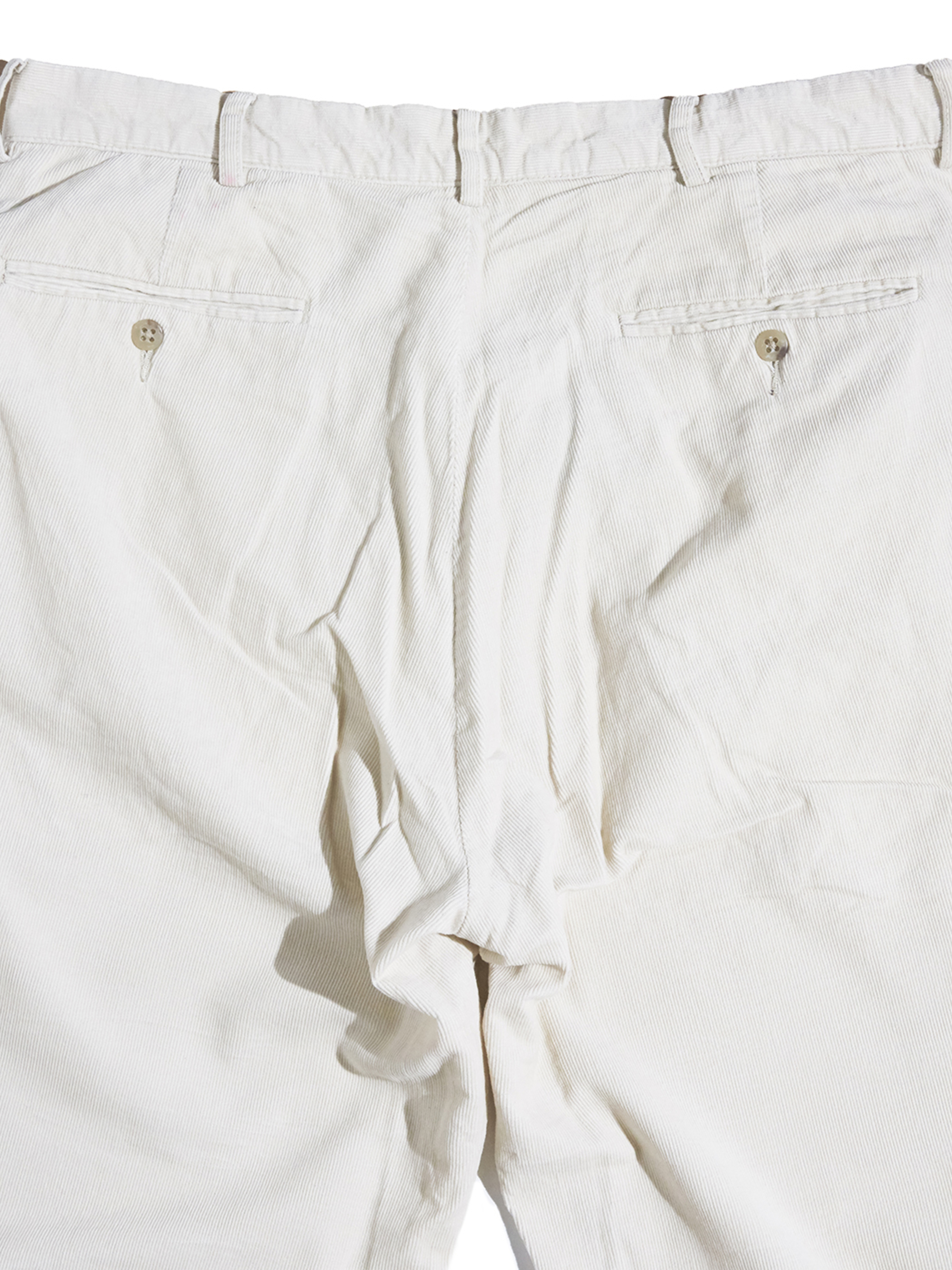 """1990s """"POLO by Ralph Lauren"""" corduroy pants -IVORY-"""