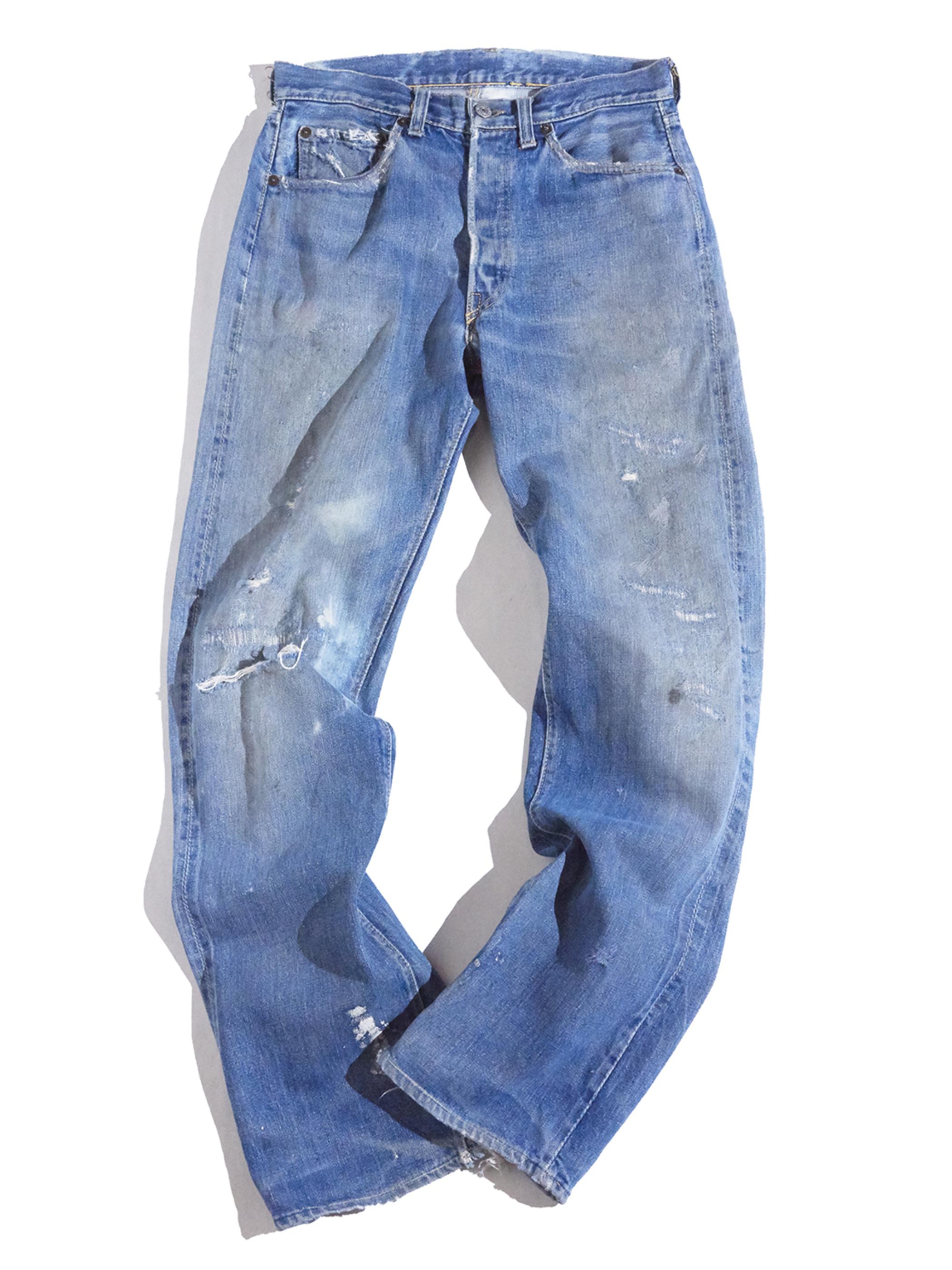 "1950s ""LEVIS"" 501 XX denim pants -INDIGO-"