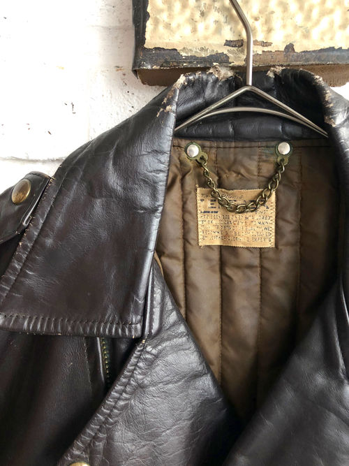 Vintage 50's-60's Brown Racing Jacket
