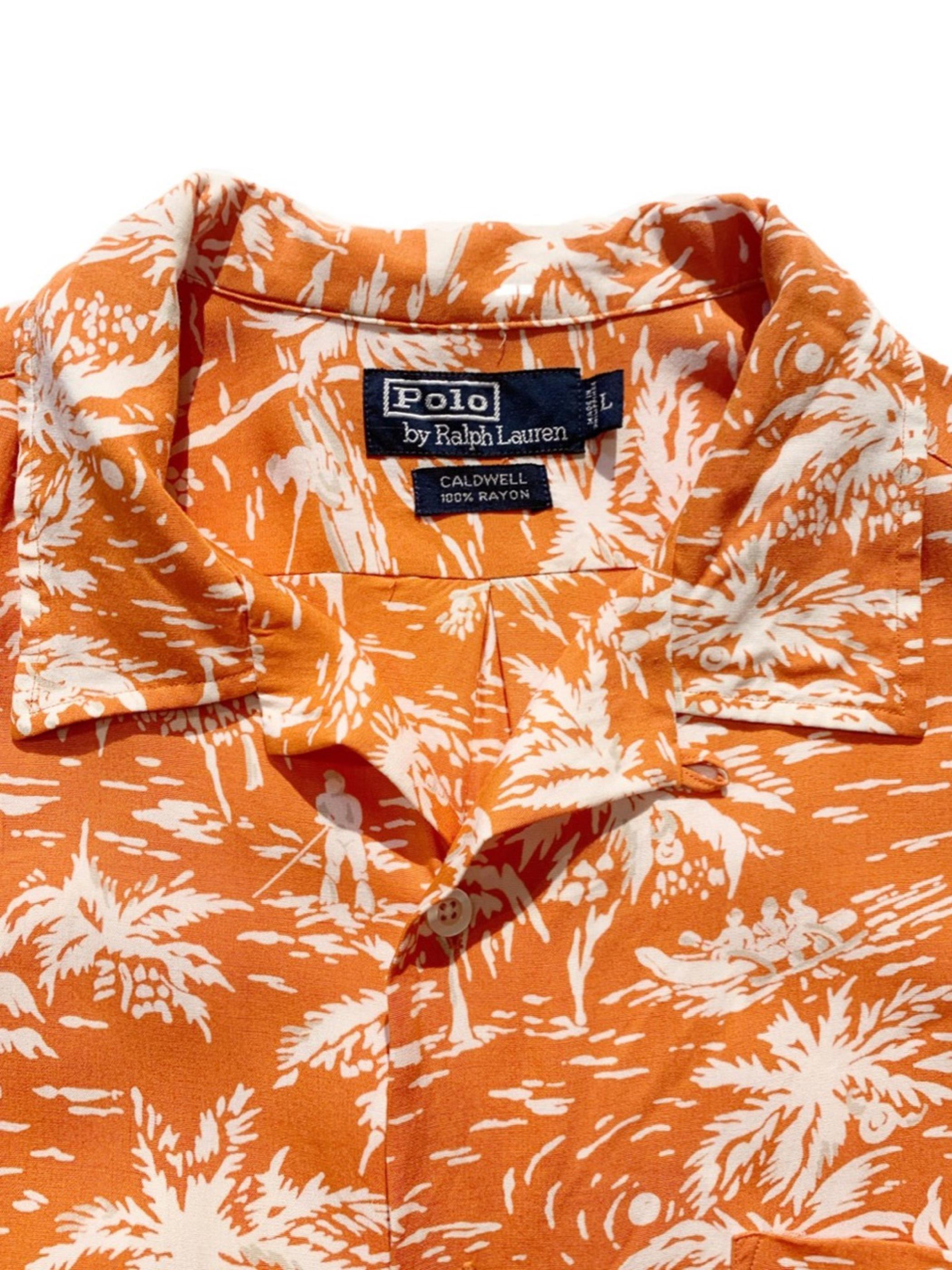 old Polo Ralph Lauren hawaiian shirt