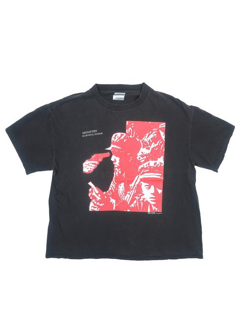 90年代 ミニストリー プリントTシャツ