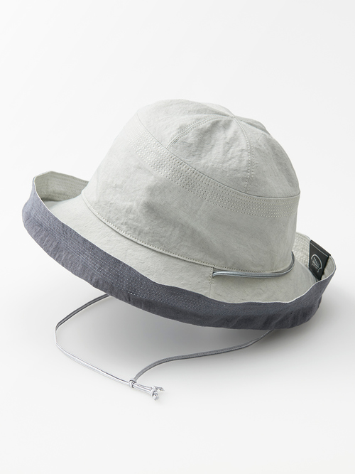 Reversible hat light gray omote 020 re
