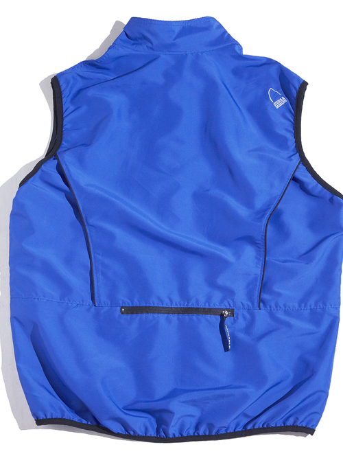 "1990s ""SIERRA DESIGNS"" packable zip up vest -PURPLE-"