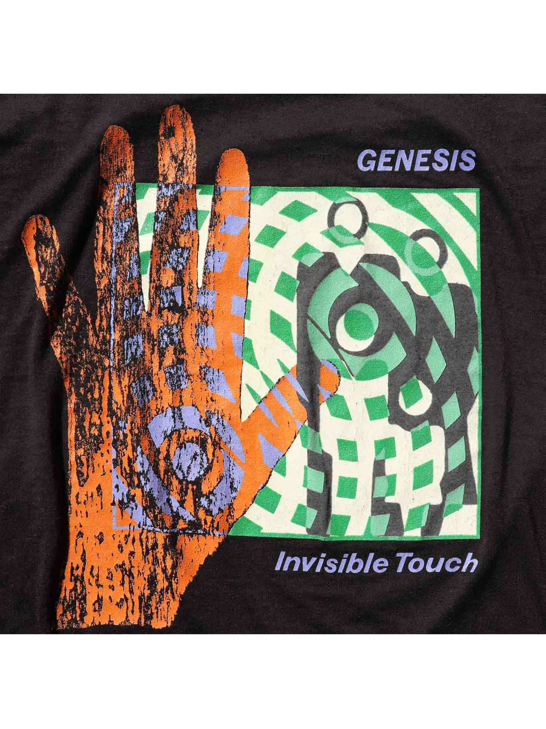 "80's GENESIS ""INVISIBLE TOUCH TOUR 1987"" プリントTシャツ [XL]"