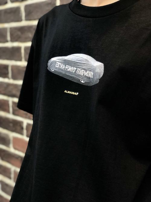 T-shirts [S~XL] ALMANIAC / Covered Car / Black