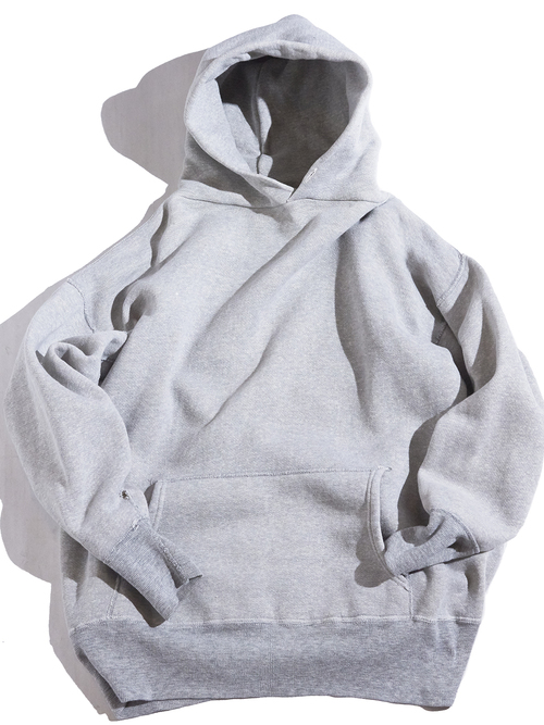 """1960s """"unknown"""" all cotton sweat hoodie -GREY-"""