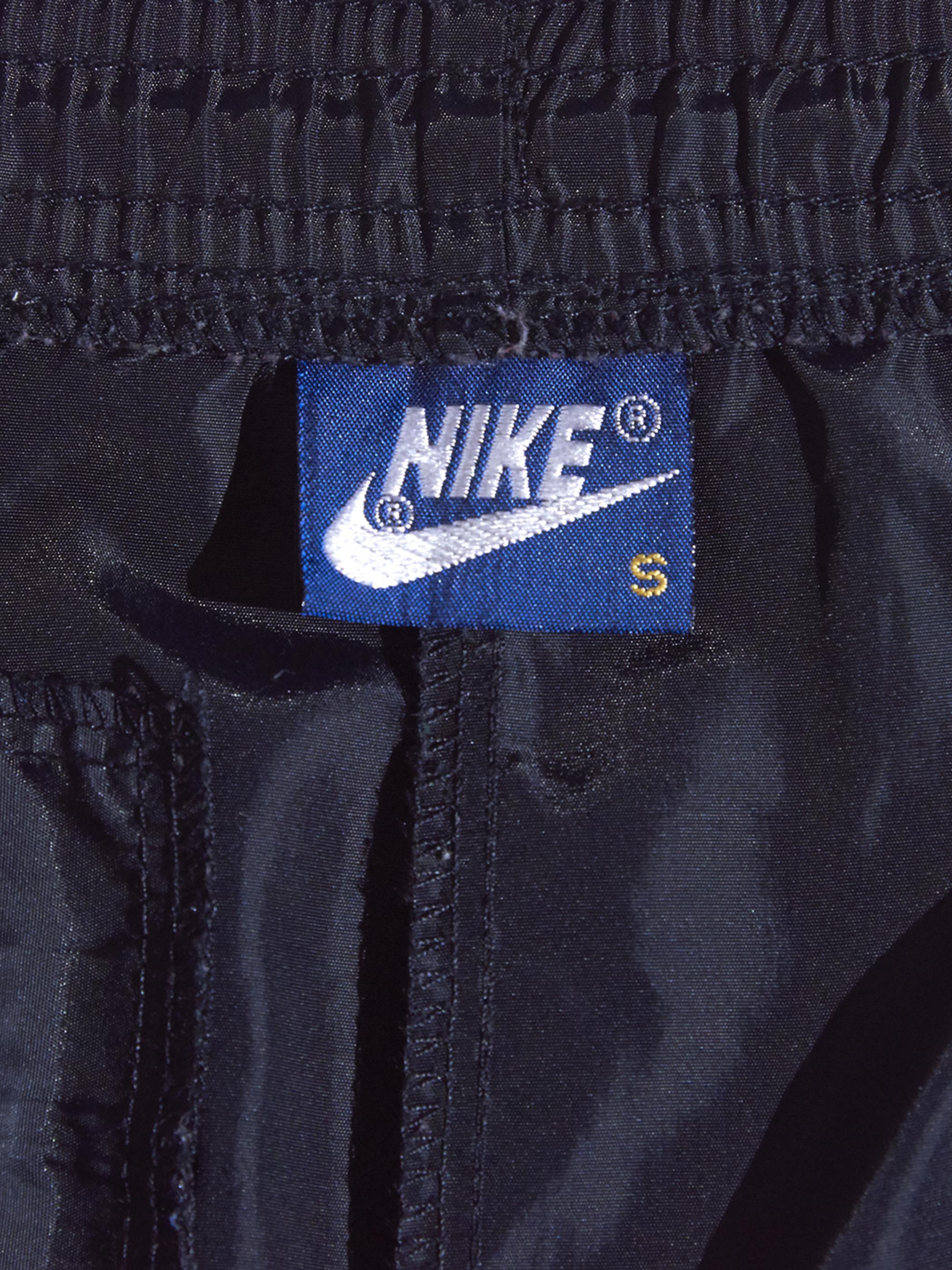 """1980s """"NIKE AIR JORDAN"""" track pants -BLACK-"""