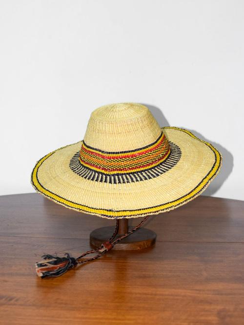 African straw hat/アフリカンストローハット