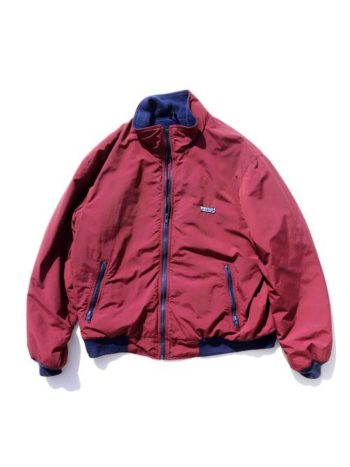 80's EDDIE BAUER USA製 フリースライナー ナイロンジャケット [XL]