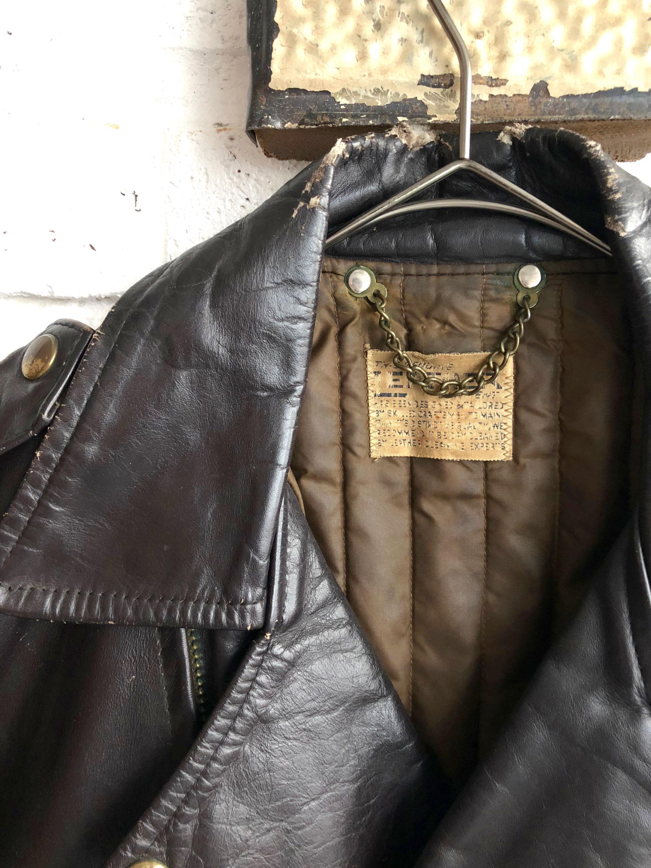 Vintage 50's-60's Brown Racing Jacket