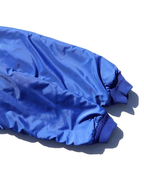80's PATAGONIA USA製 ブルー×レッド シェルドシンチラ ナイロンジャケット [L]