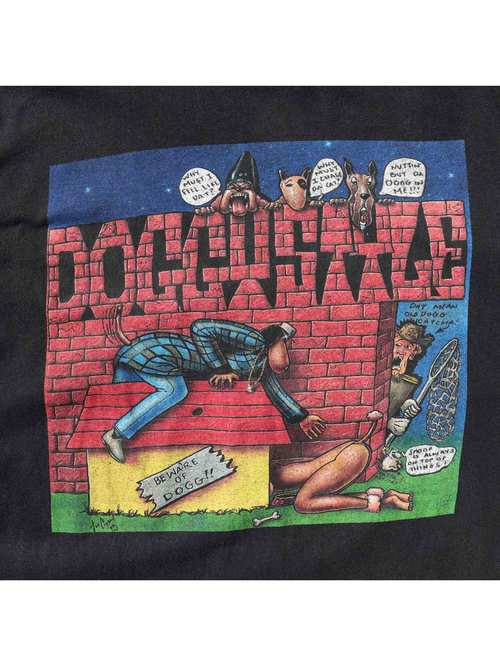 "00's SNOOP DOGGY DOGG ""DOGGYSTYLE"" プリントTシャツ [XL]"