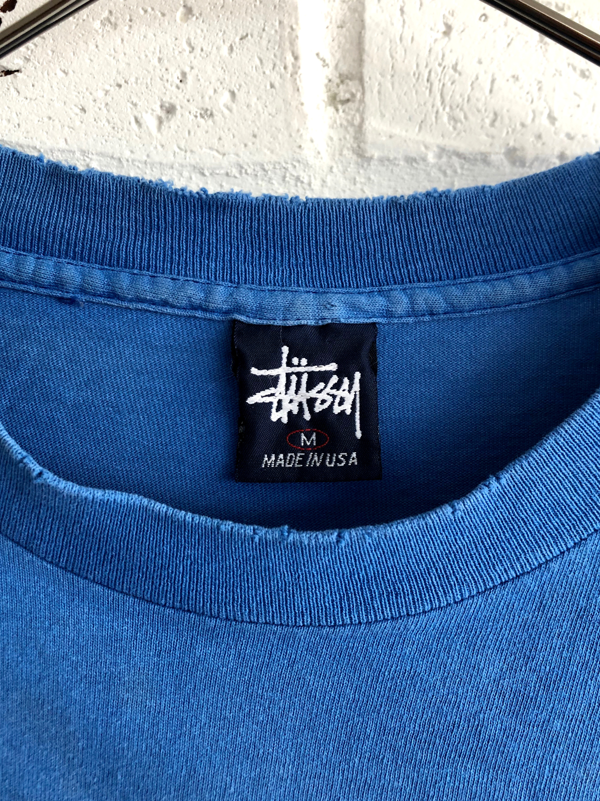 "OLD STUSSY ""STAR"" 90's T-shirt"