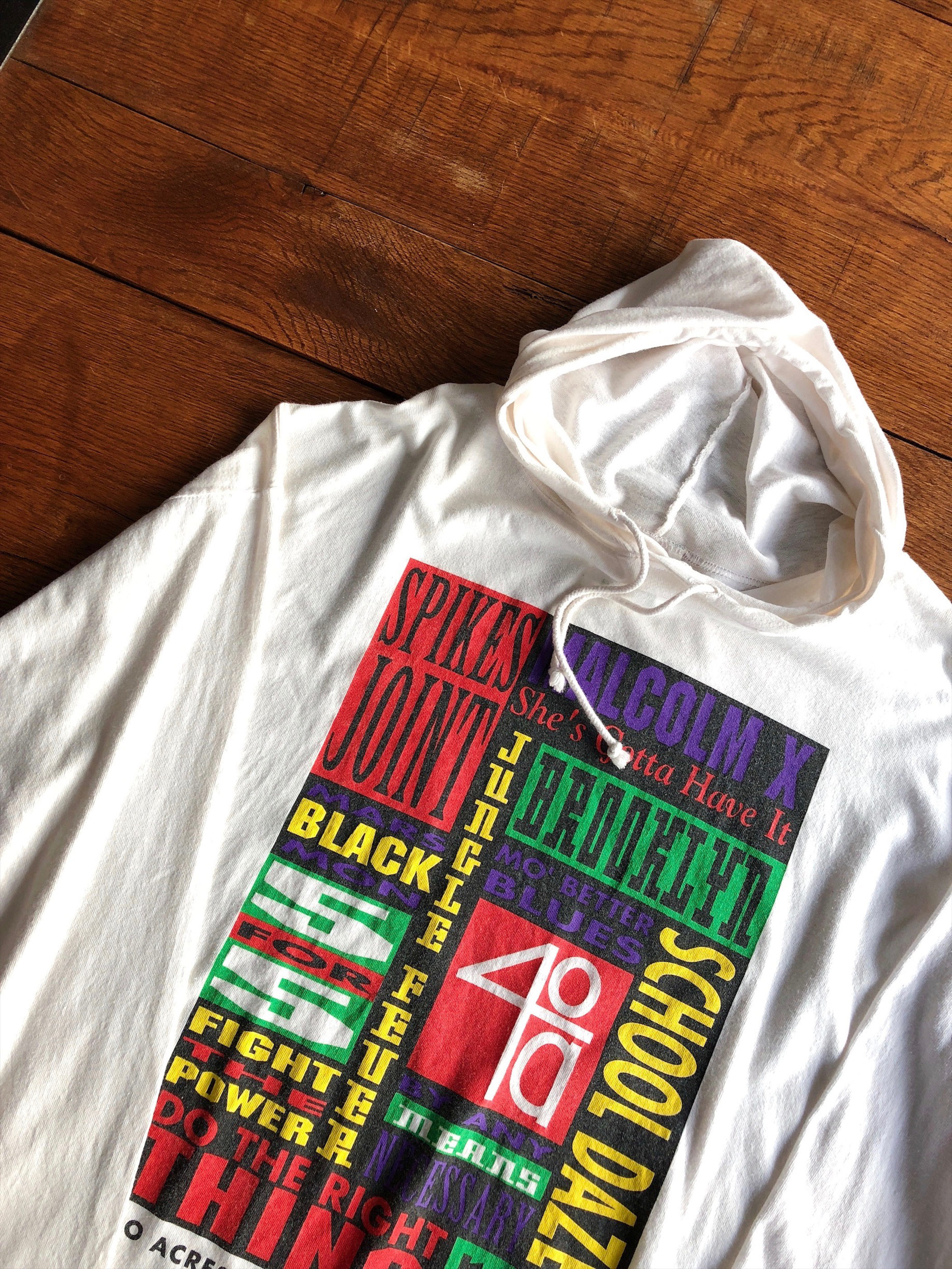 90's 40 Acres and a Mule Film Works L/S hoodie shirts