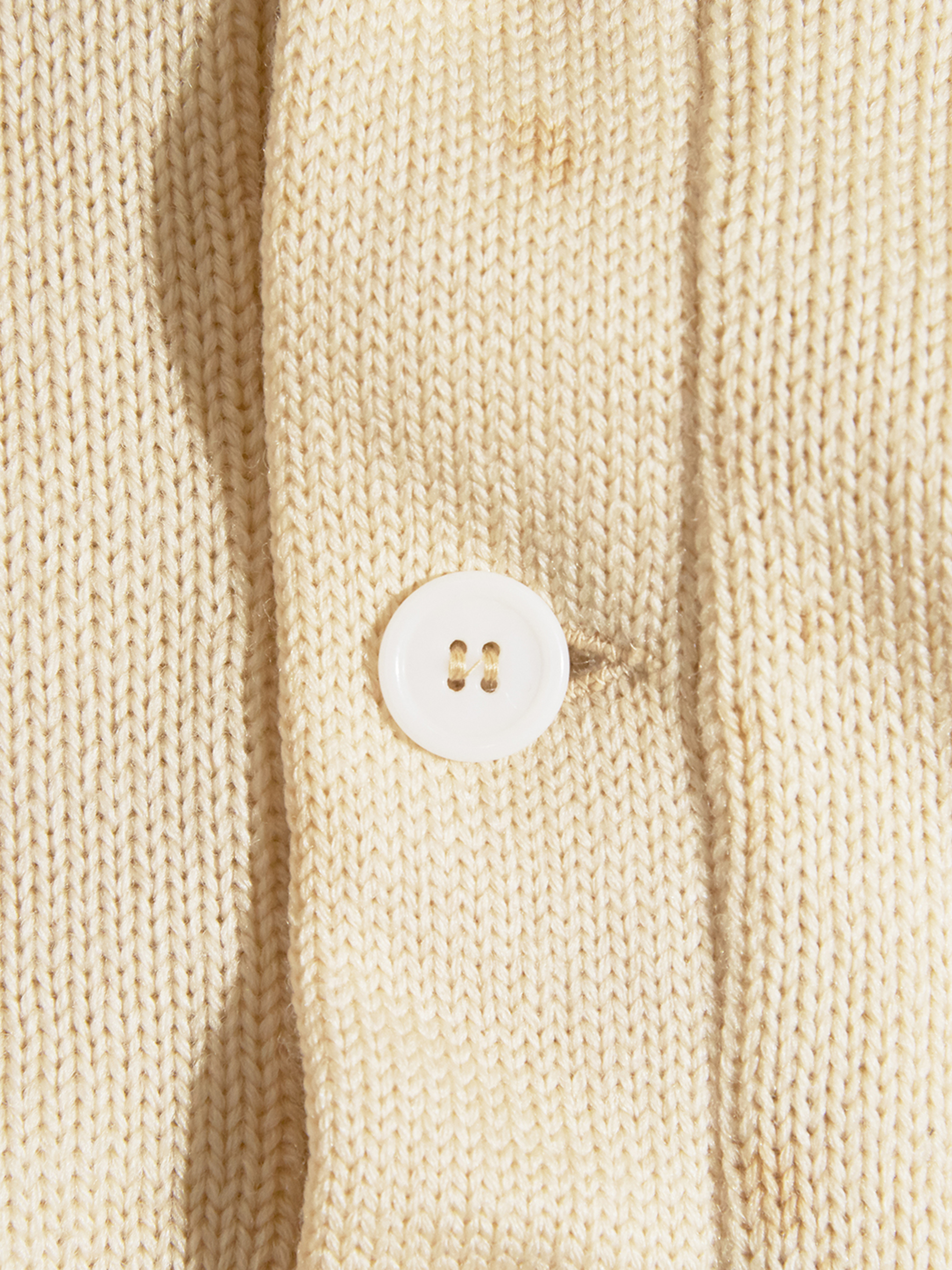 """1960s """"IMPERIAL"""" wool knit cardigan -WHITE-"""