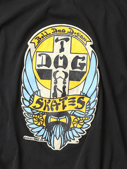 Used / Dog Town / 1980's Vintage / T-Shirt