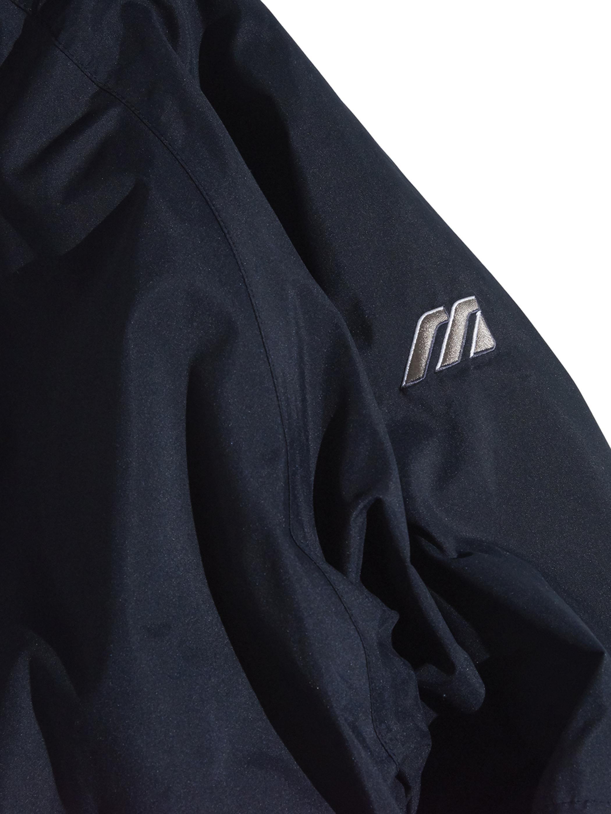 "1990s ""mizuno"" detachable sleeve shell jacket -BLACK-"