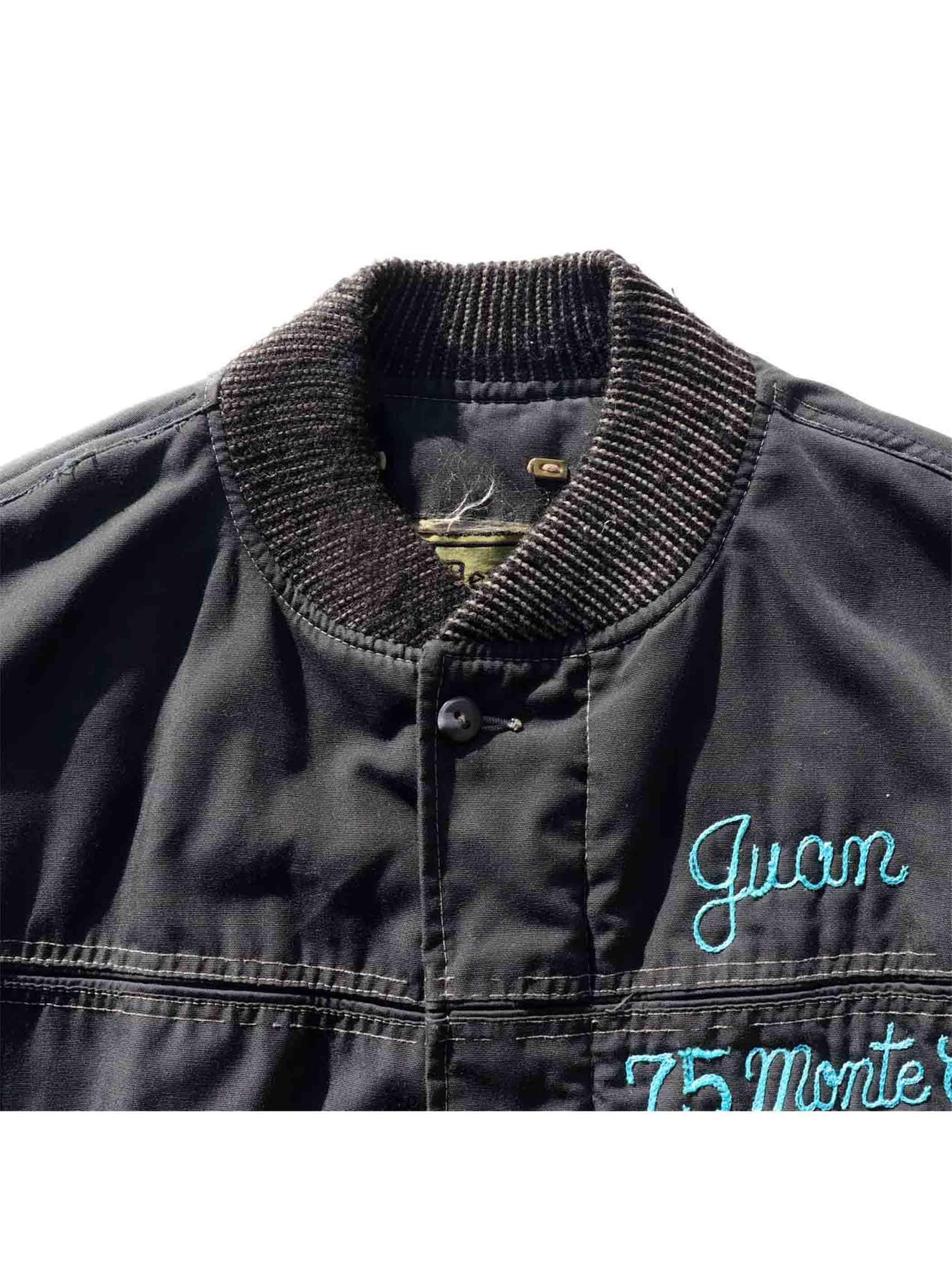 """70's DERBY OF SAN FRANCISCO """"HAYWARD MAJESTICS / BLACK"""" Car Club Jacket [42]"""