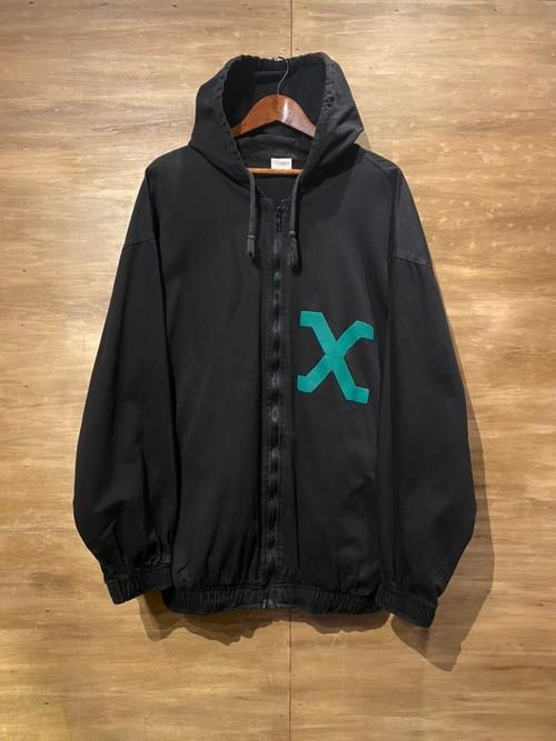 ジップパーカー [XL] MALCOLM X
