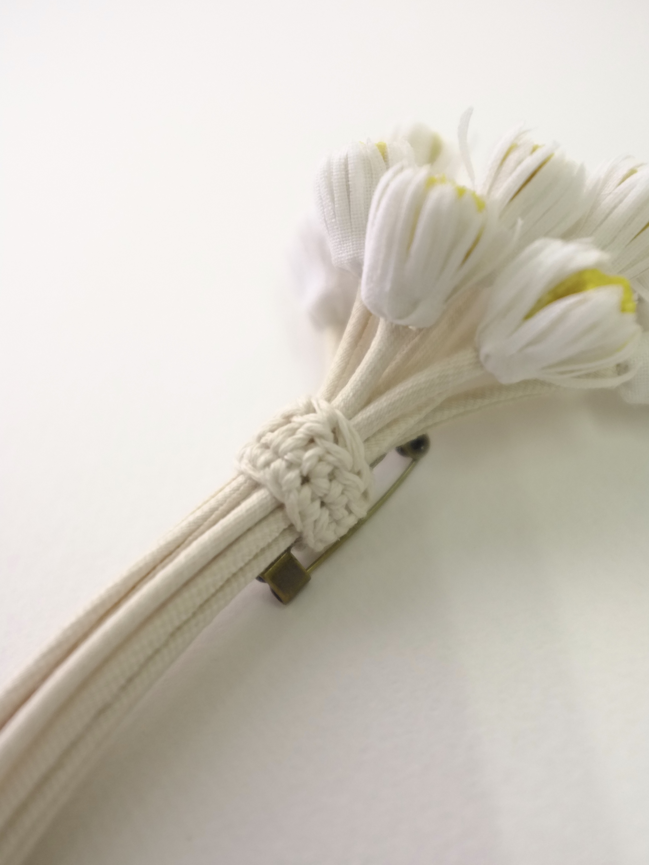 【SOLD OUT】daisy bouquet - col. off white