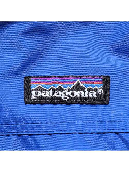 90's PATAGONIA USA製 2トーンフリースライナー シェルドシンチラジャケット [XL]