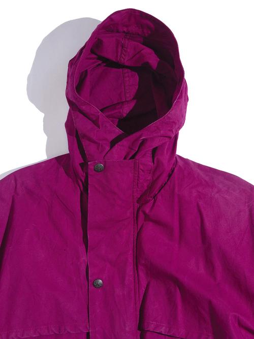 "1980s ""OUTBACK"" riding jacket -BURGANDY-"