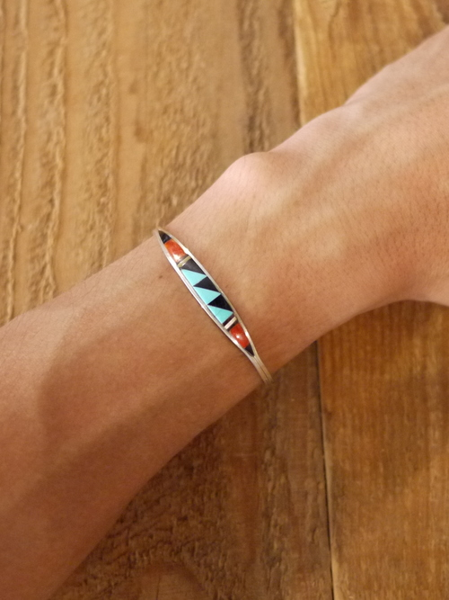 ZUNI Multicolor Inlay Bracelet