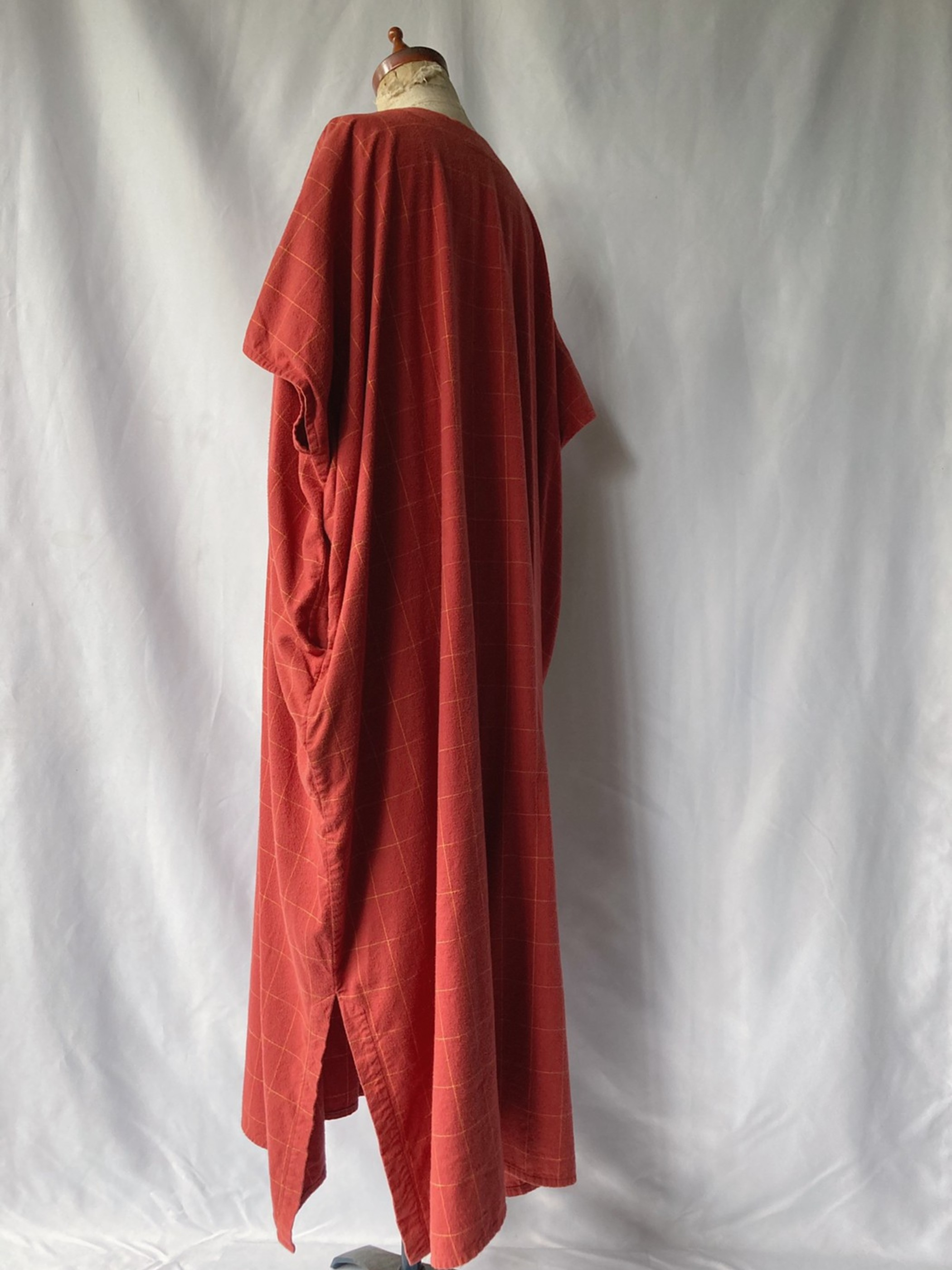 flannel plaid dress