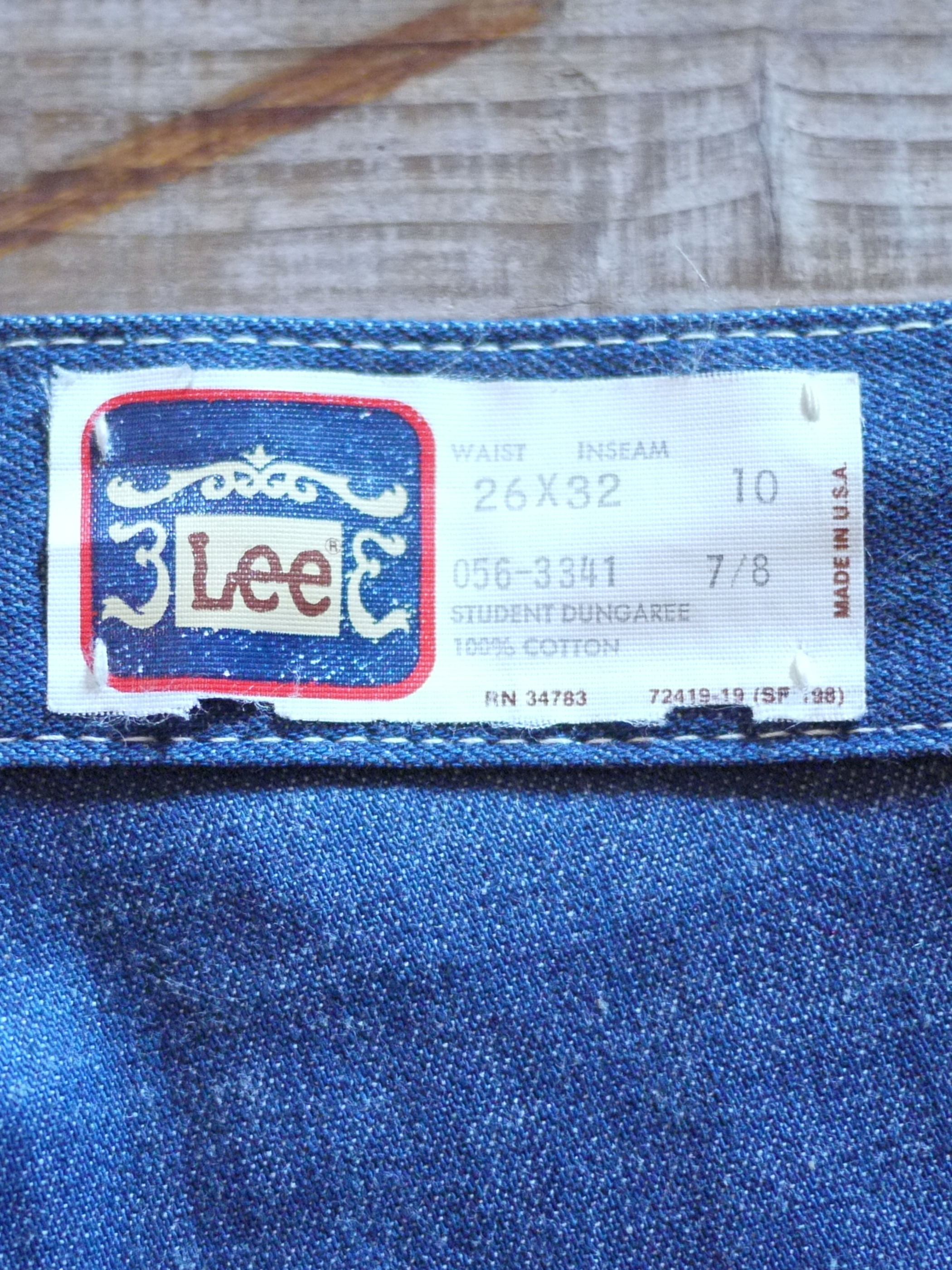 "Lee 1970's Painter pants W26 ""Dead Stock"""