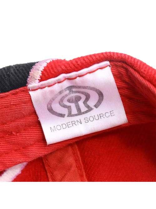 MODERN SOURCE ファイヤーパターン ストラップバック ローキャップ
