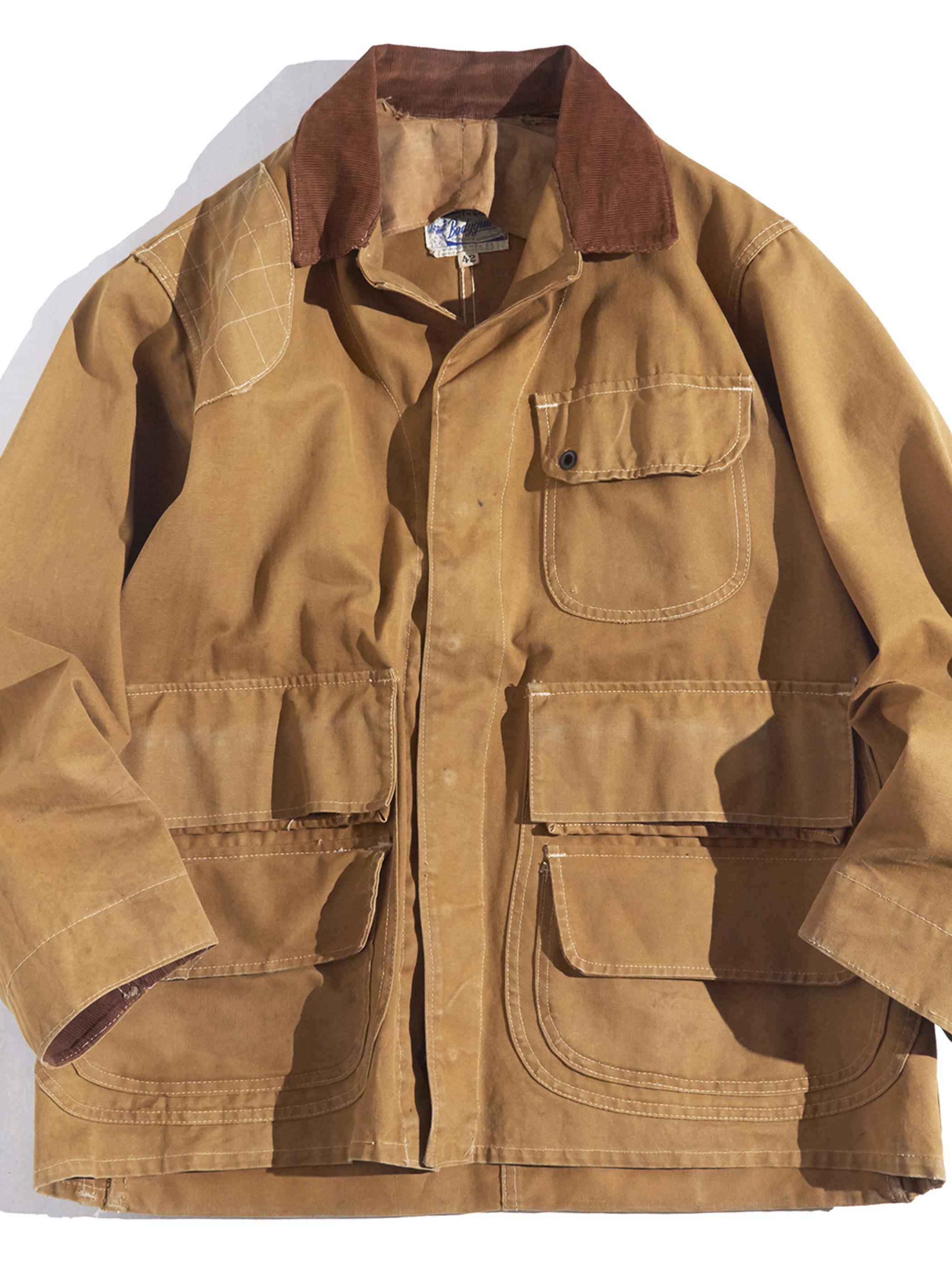 """1950s """"HINSON"""" hunting jacket -BROWN-"""